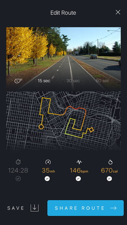 bycle case and app turns iphone into bike computer for tracking rides share route