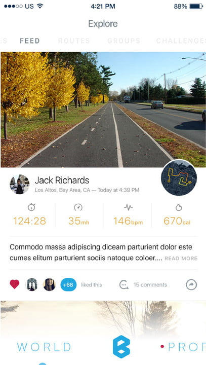 bycle case and app turns iphone into bike computer for tracking rides bycleapp world feed