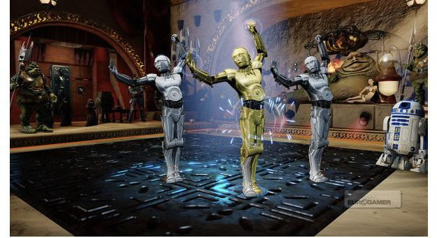 C-3PO Kinect Dance Off