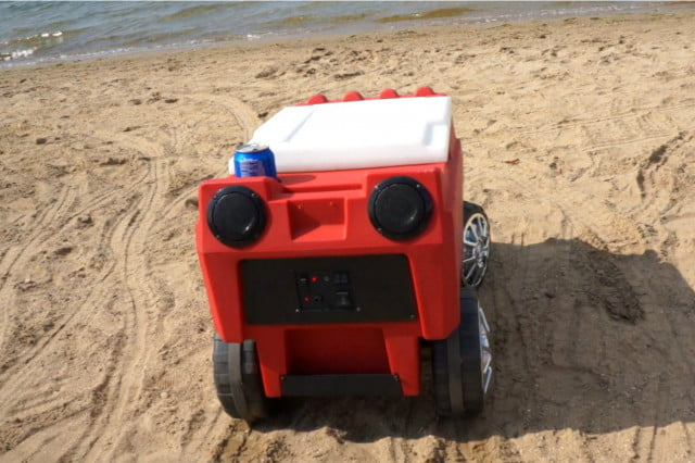 radio controlled custom cooler hauls cold drinks and tunes c  beach