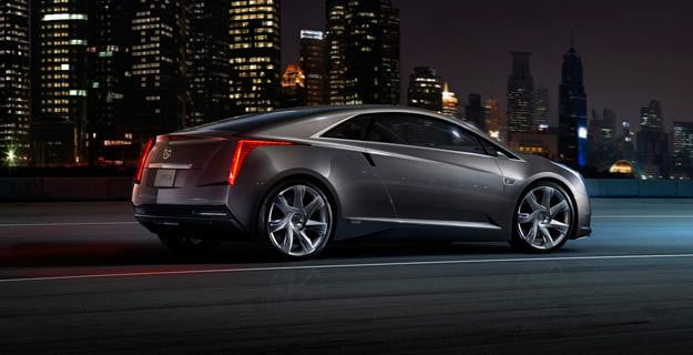 Cadillac ELR Night Side View