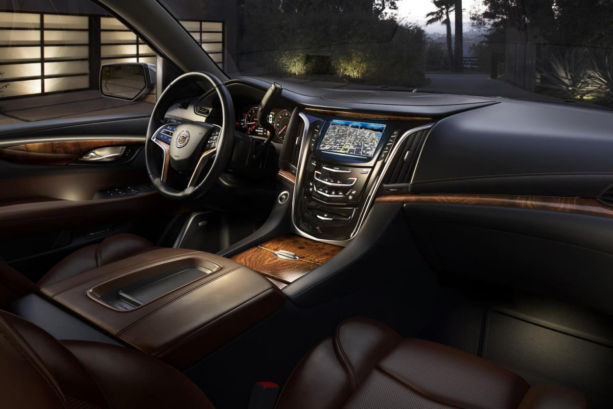 cadillac escalade interior less liberace more leather tease