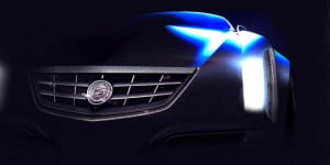 2013 Cadillac Glamour concept leaked image front view