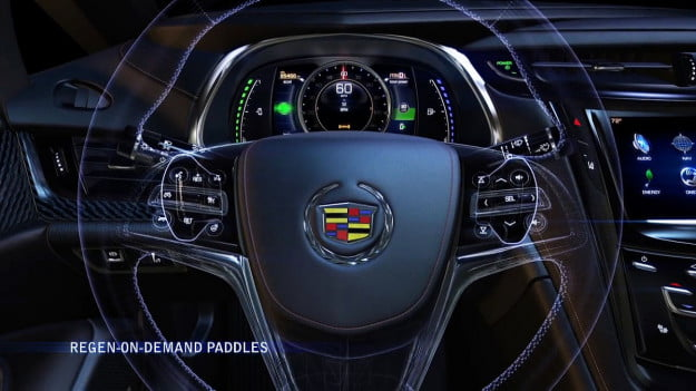Cadillac ELR Paddle Shifters