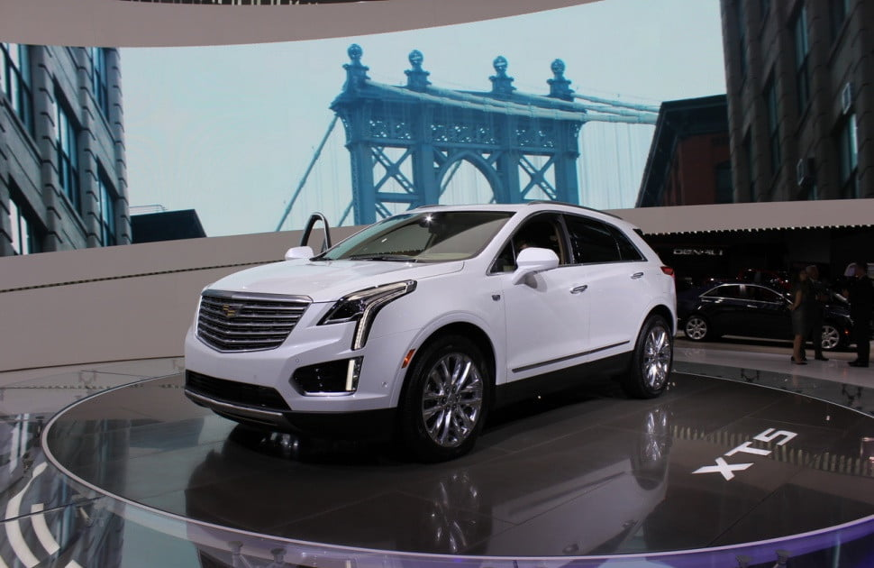 cadillac xt5 crossover pricing specs news digital trends. Black Bedroom Furniture Sets. Home Design Ideas