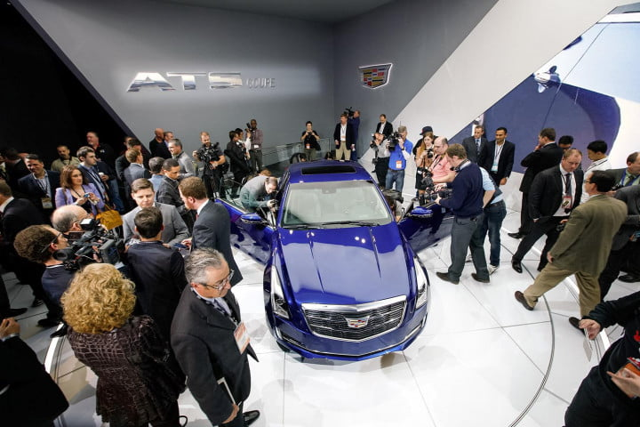 what we learned  detroit auto show cadillacatscoupereveal