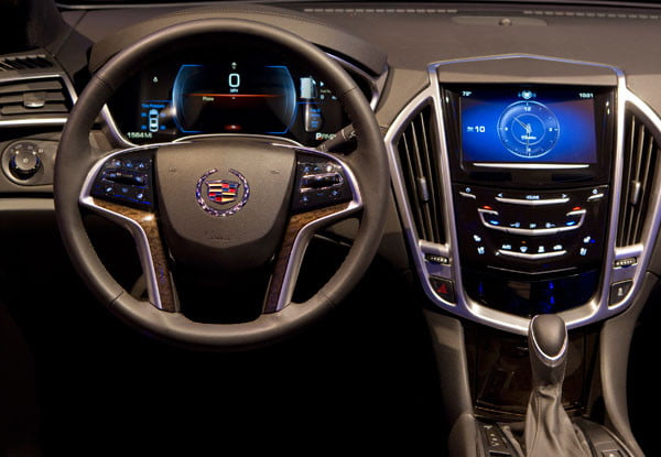 CadillacCUE Interface