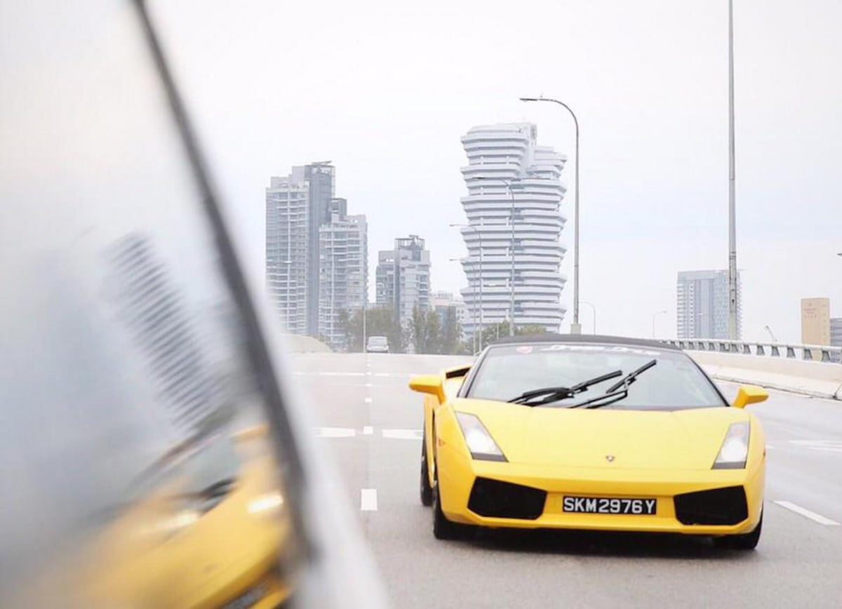 uber now offers supercar pickup in singapore