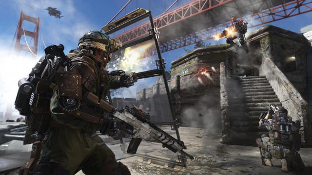 play call duty advanced warfare one day early zero pre order of first look