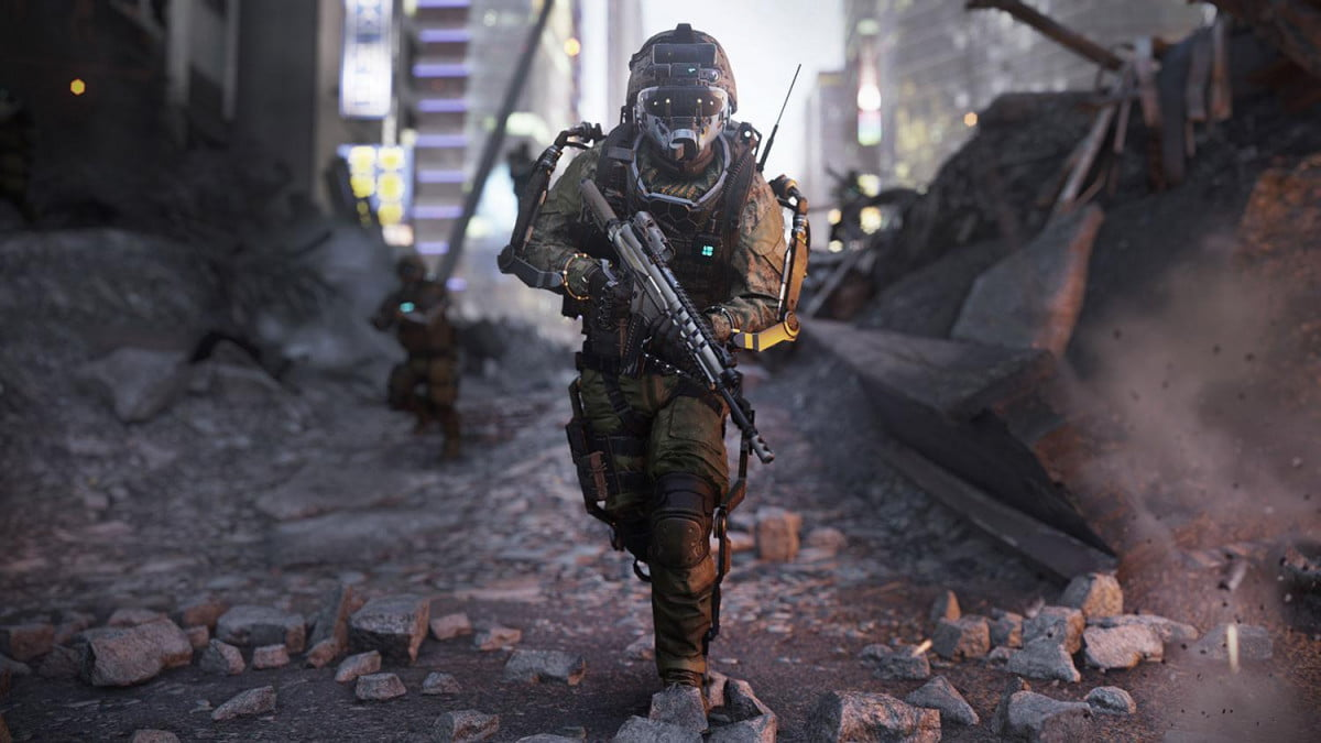 combat takes high tech turn call duty advanced warfare of