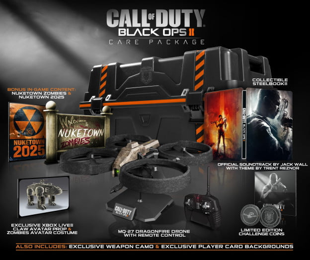 call of duty black ops 2 collectors edition
