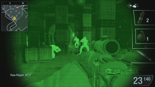 Call of Duty Black Ops Declassified multiplayer