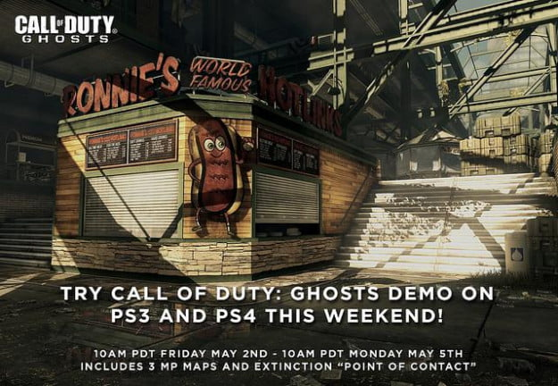 call of duty ghosts demo