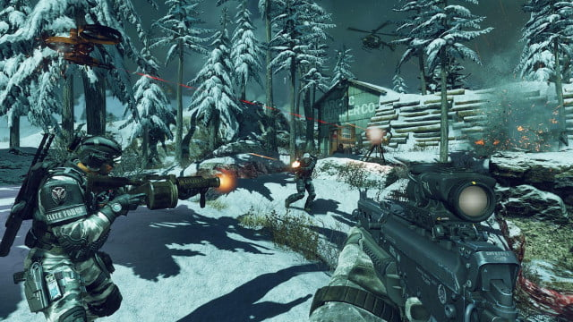 call of duty ghosts blitz multiplayer mode hits refresh on capture the flag screenshot arctic lumber