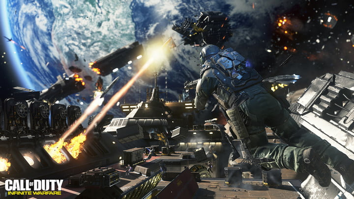 call of duty infinite warfare review vr jackal assault bonus
