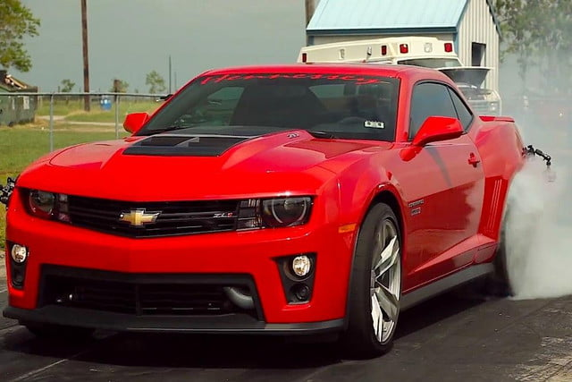 hennessey releases video twin turbo  horsepower chevrolet camaro zl hp