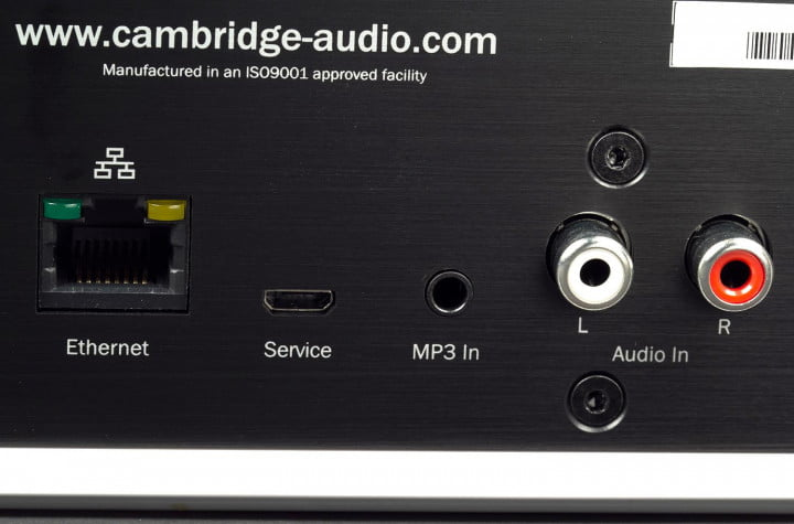 cambridge audio minx air  review inputs macro
