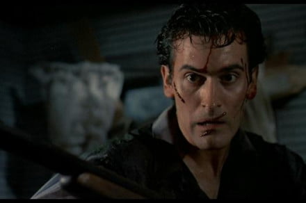 Campbell in Evil Dead