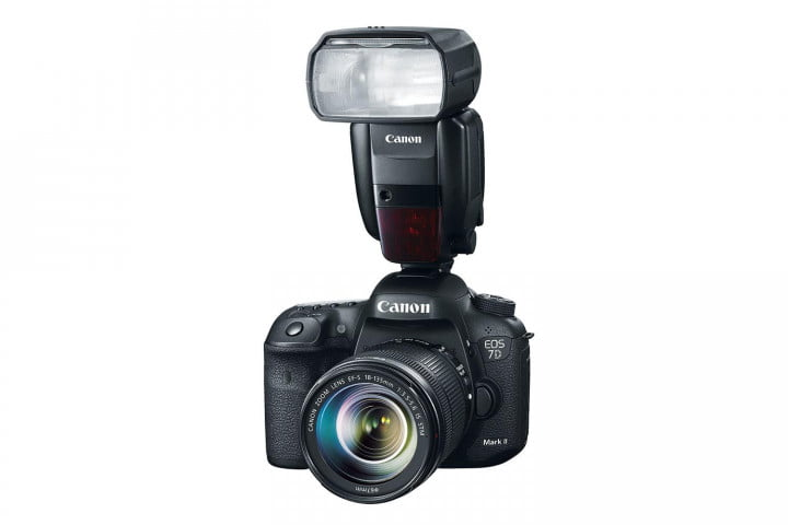 hands on review canon eos  d mark ii flash press image