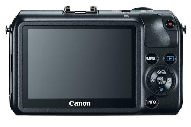 Canon EOS-M Black Rear