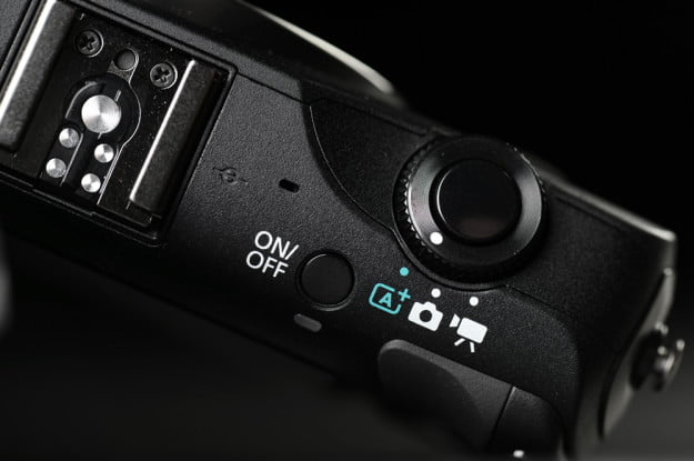 canon eos m micro four thirds camera top controls