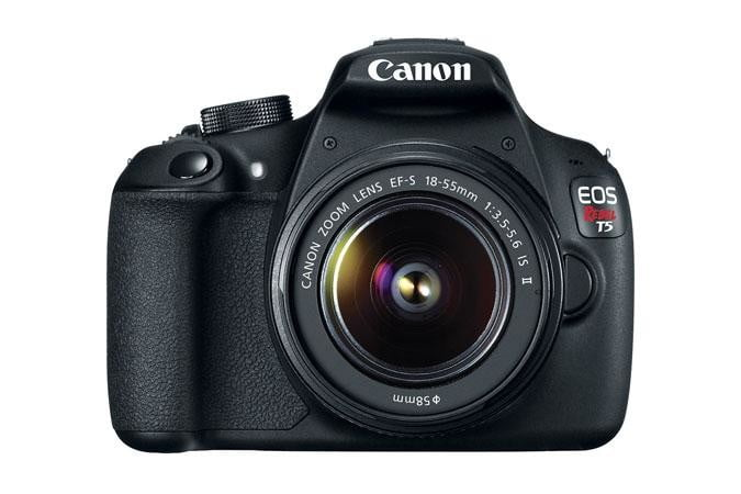 Canon EOS Rebel T5 Front