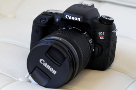 Canon-EOS-Rebel-T6s-front-angle