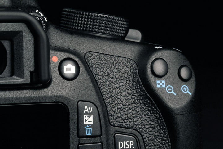 canon eos rebel t  review buttons