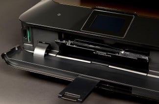 Canon MG6320 Review drawer open