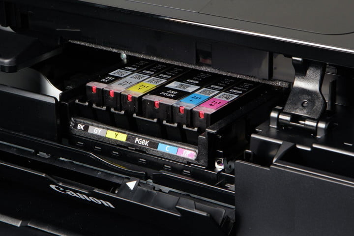 canon pixma mg  review cartridges full