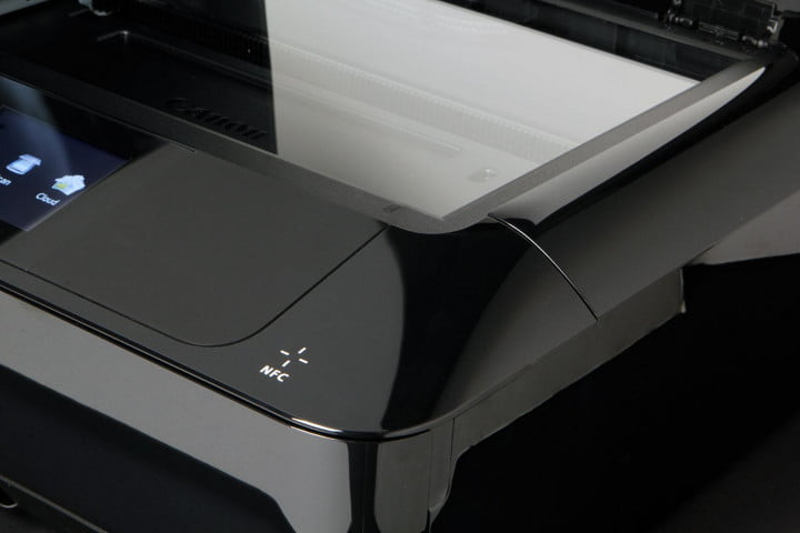 canon pixma mg  review scanner bed