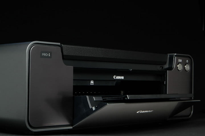 canon pixma pro  review front right