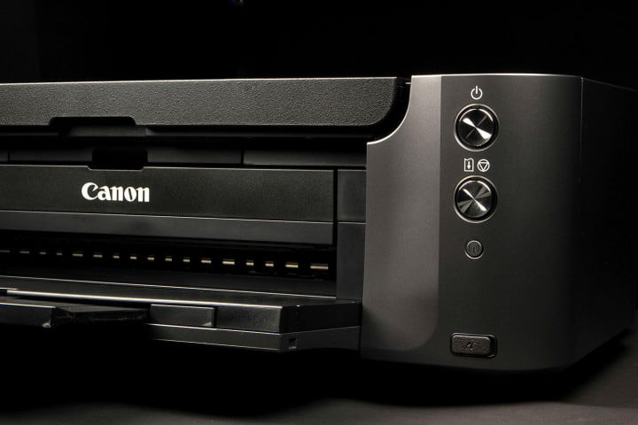 canon pixma pro  review front angle