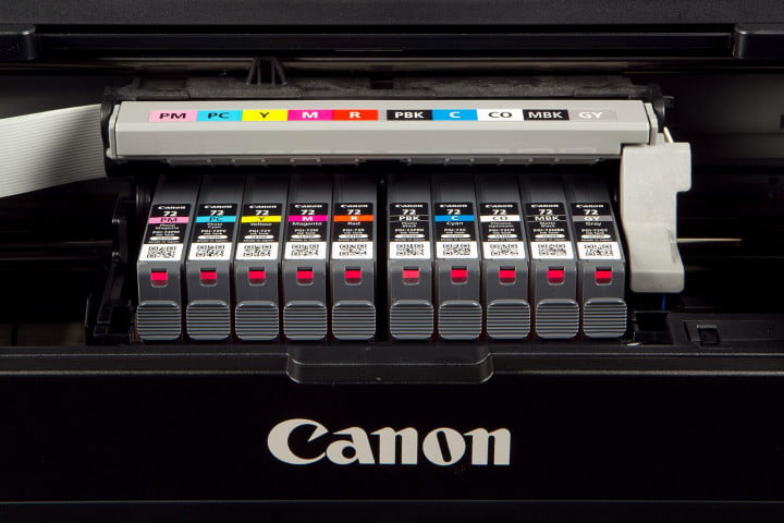 canon pixma pro  review ink