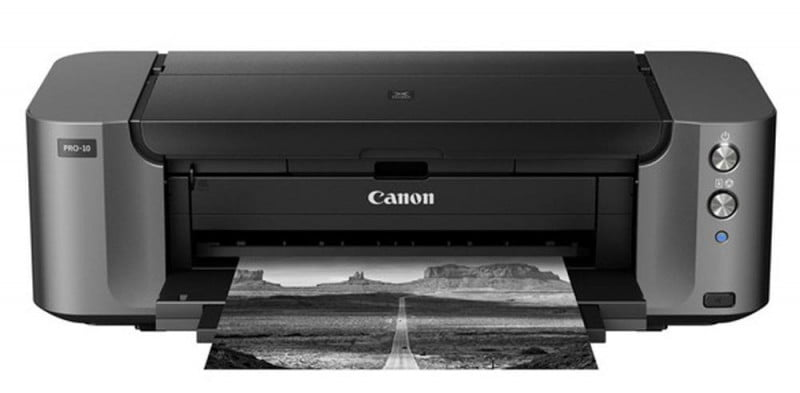 canon pixma pro  review press image