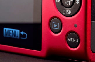 Canon Powershot ELPH 130IS buttons macro