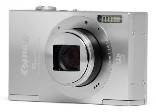 canon-powershot-elph-520-hs-review-silver-front-angle-lens