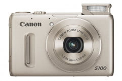 canon powershot s  review black front flash
