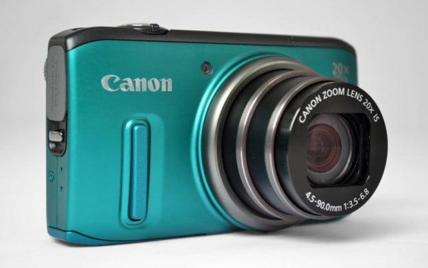 Canon-PowerShot-SX260-HS-review-front-angle-lens