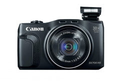 canon powershot sx  hs review front
