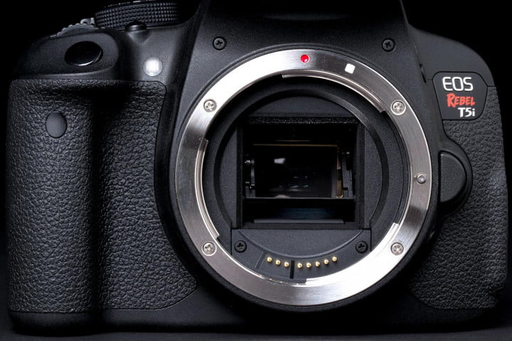 canon eos rebel t i review front no lens