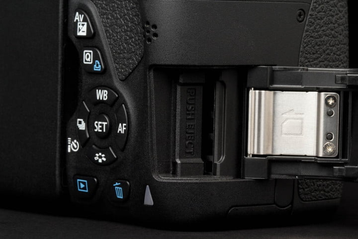 canon eos rebel t i review sd card