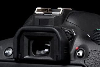 Canon Rebel EOS T5i viewfinder