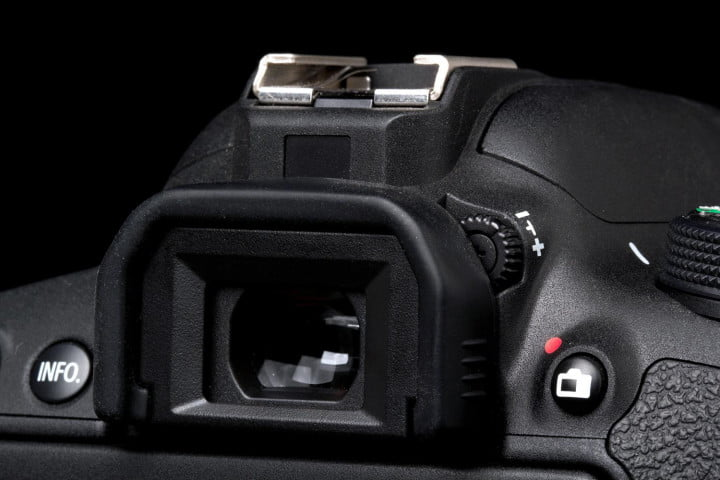 canon eos rebel t i review viewfinder