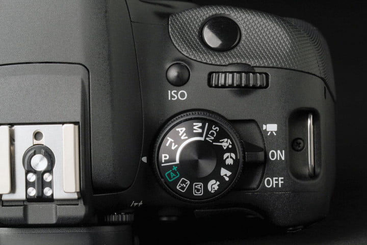 canon eos rebel sl  review settings dial