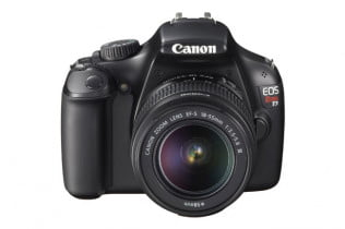 Canon EOS Rebel T3 front lens