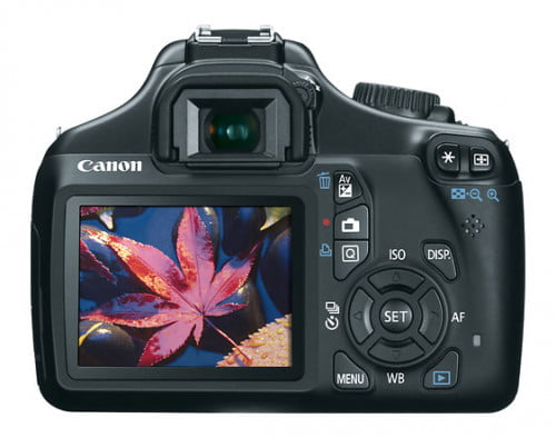 Canon EOS Rebel T3 Rear display