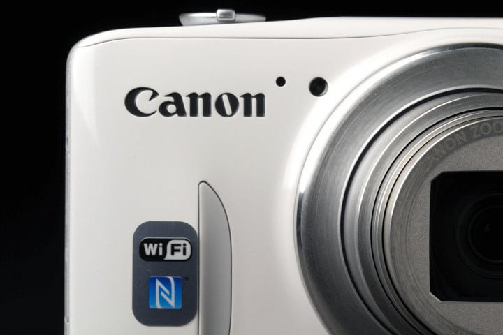 canon powershot sx  hs review badge