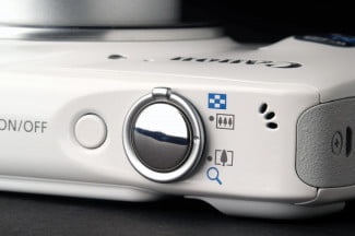 Canon SX600 function select