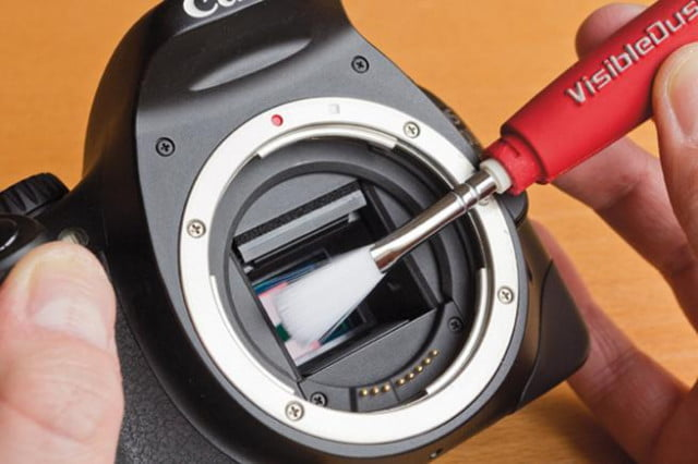Using soft brushes are a great way to keep your camera clean.
